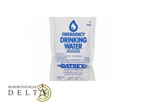 Agua de emergencia DATREX